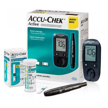 Kit Monitor de Glicemia Active