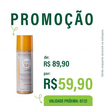 Photoderm Nude Touch FPS50+ Dourado 40ml