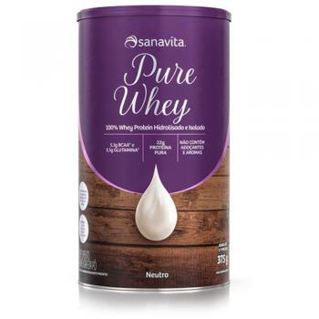 PURE WHEY SABOR NEUTRO - 375g
