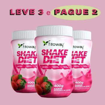 Kit Shake Diet - Morango - 400G
