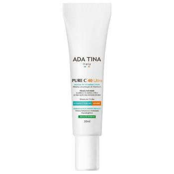 Rejuvenescedor Facial Ada Tina Pure C 40 Ultra - Mousse 30ml